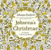Johannas Christmas A Festive Colouring Book - Johanna Basford | mała okładka