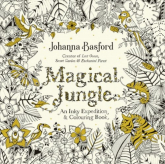 Magical Jungle An Inky Expedition & Colouring Book - Johanna Basford | mała okładka
