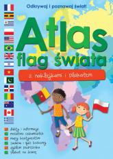 Atlas flag świata z naklejkami i plakatem -  | mała okładka