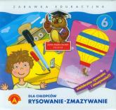 Rysowanie-zmazywanie 6 Dla chłopców Zabawka edukacyjna -    mała okładka
