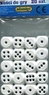 Kości do gry 20 sztuk -    mała okładka