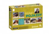 Gra edukacyjna memory - Pojazdy - Jacek Bonecki | mała okładka