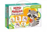 Dzieci kontra rodzice Memory zwierzaki - zbiorowa Praca | mała okładka