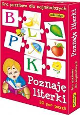 Poznaję literki Gra puzzlowa - Antonina Kwasek | mała okładka