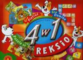 4 w 1 Reksio puzzle i 3 gry -  | mała okładka