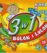 3 w 1 Bolek i Lolek Puzzle i 2 gry -    mała okładka