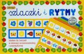 Szlaczki i rytmy zestaw do ćwiczeń w edukacji wczesnoszkolnej i przedszkolnej -    mała okładka