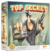 Top Secret Gra planszowa - Wolfgang Dirscherl   mała okładka