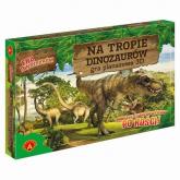 Na tropie dinozaurów - Era dinozaurów Gra planszowa 3D -  | mała okładka