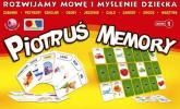 Rozwijamy mowę i myślenie dziecka Zestaw 1 Piotruś Memory Logopedyczne gry planszowe. Pakiet talii -  | mała okładka