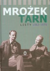 Listy 1963-1975 - Mrożek Sławomir, Tarn Adam | mała okładka