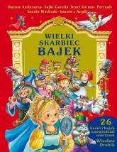 Wielki skarbiec bajek - Wiesław Drabik | mała okładka