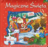 Magiczne Święta czerwona 6 układanek -  | mała okładka