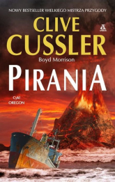 Pirania - Clive Cussler | mała okładka