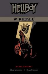 Hellboy w piekle Tom 2 Karta śmierci - Mignola Mike, Mignola Mike | mała okładka