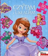 Jej wysokość Zosia Czytam i układam 30 puzzli -  | mała okładka