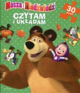 Masza i Niedźwiedź Czytam i układam 30 puzzli -  | mała okładka