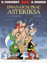 Asteriks Dwanaście prac Asteriksa - Goscinny Rene, Uderzo Albert | mała okładka