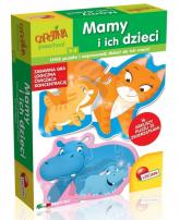 Carotina Mamy i ich dzieci Ułóż puzzle i zaprowadź dzieci do ich mam -  | mała okładka