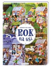 Rok na wsi - Magdalena Kozieł-Nowak | mała okładka