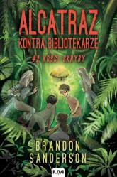 Alcatraz kontra Bibliotekarze Część 2 Kości skryby - Brandon Sanderson | mała okładka