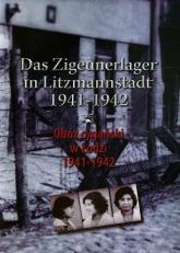 Obóz cygański w Łodzi 1941-1942 Das Zigeunerlager in Litzmannstadt 1941-1942 - Julian Baranowski   mała okładka