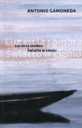 Światło w cieniu - Antonio Gamoneda | mała okładka