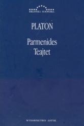 Parmenides Teajtet - Platon | mała okładka