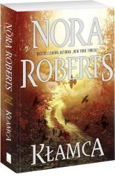 Kłamca - Nora Roberts | mała okładka