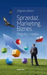 Sprzedaż marketing biznes Reguły i realia - Zbigniew Berent | mała okładka