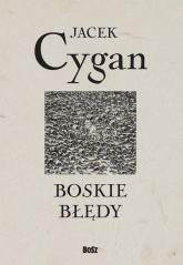 Boskie błędy - Jacek Cygan | mała okładka