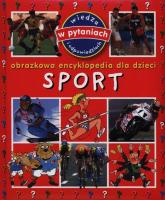 Sport Obrazkowa encyklopedia dla dzieci - Emilie Beaumont | mała okładka