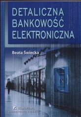 Detaliczna bankowość elektroniczna - Beata Świecka | mała okładka