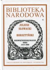 Horsztyński - Juliusz Słowacki | mała okładka