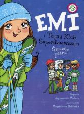 Emi i Tajny Klub Superdziewczyn Tom 6 Śnieżny patrol - Agnieszka Mielech | mała okładka
