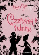 Czerwień rubinu Trylogia czasu - Kerstin Gier | mała okładka