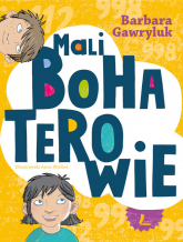 Mali bohaterowie - Barbara Gawryluk | mała okładka