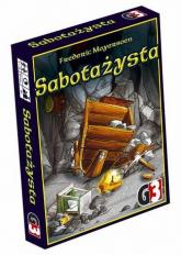 Sabotażysta - Moyersoen Frederic | mała okładka