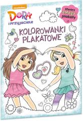 Dora i przyjaciele Kolorowanki plakatowe KPO-601 -  | mała okładka