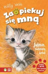 Zaopiekuj się mną Jaśmin, nieśmiały kotek - Holly Webb | mała okładka