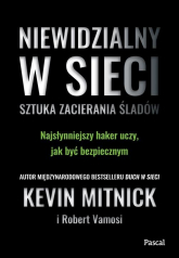 Niewidzialny w sieci - Kevin Mitnick | mała okładka