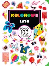 Kolorowe lato Ponad 100 naklejek - praca zbiorowa | mała okładka