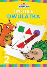 Akademia malucha Ćwiczenia dwulatka - praca zbiorowa | mała okładka