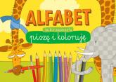 Blok kreatywny Alfabet Dzikie zwierzęta - praca zbiorowa | mała okładka