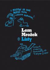 Listy - Mrożek Sławomir, Lem Stanisław | mała okładka