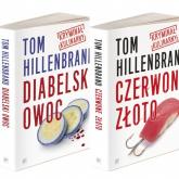 Kryminały kulinarne Toma Hillenbranda Diabelski owoc /Czerwone złoto Pakiet - Tom Hillenbrand | mała okładka