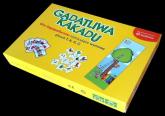 Gadatliwa kakadu Gry logopedyczne różnicujące wymowę głosek T K G D -    mała okładka