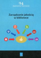 Zarządzanie jakością w bibliotece -  | mała okładka