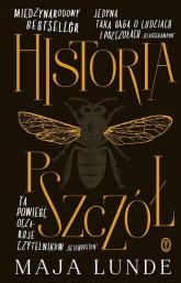 Historia pszczół - Maja Lunde | mała okładka