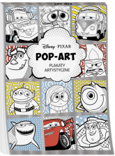Disney Pixar Pop art Plakaty artystyczne -  | mała okładka